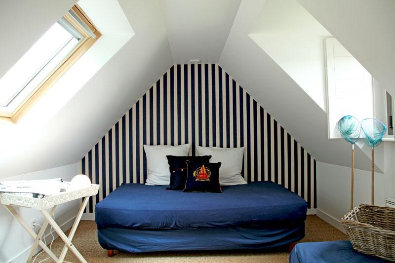 chambre decoration marine