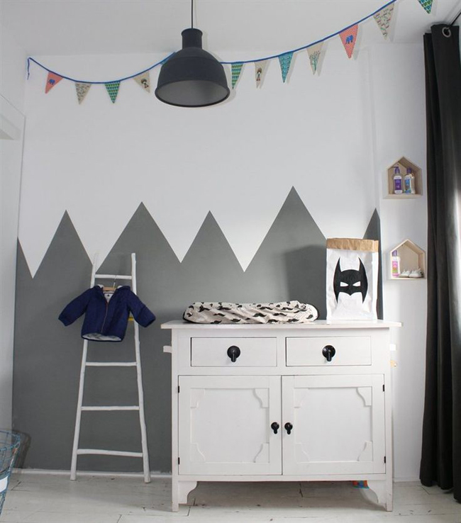 deco chambre bebe montagne  visuel 6