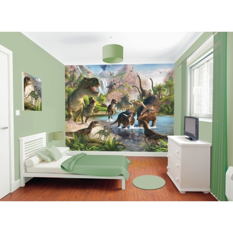 decoration chambre bebe dinosaure