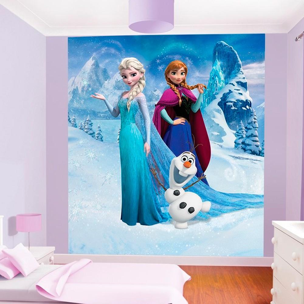 decoration chambre reine des neiges  visuel 9