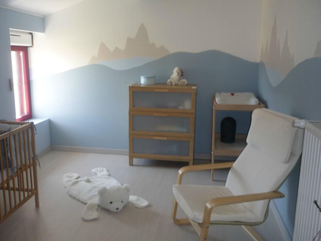 deco chambre bebe theme banquise  visuel 3