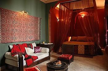 decoration chambre style oriental