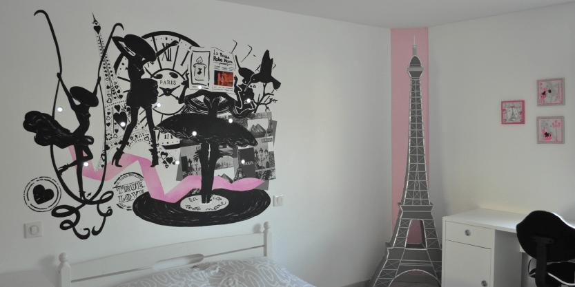 chambre decoration paris