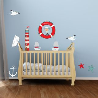 decoration chambre bebe theme marin