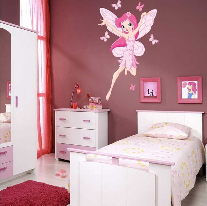 Chambre Ado Fille Vert Et Rose