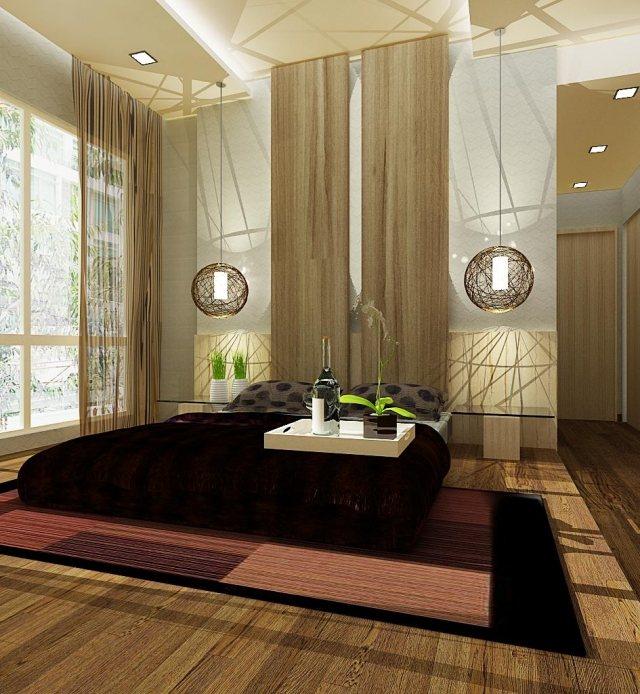 luminaire pour chambre zen