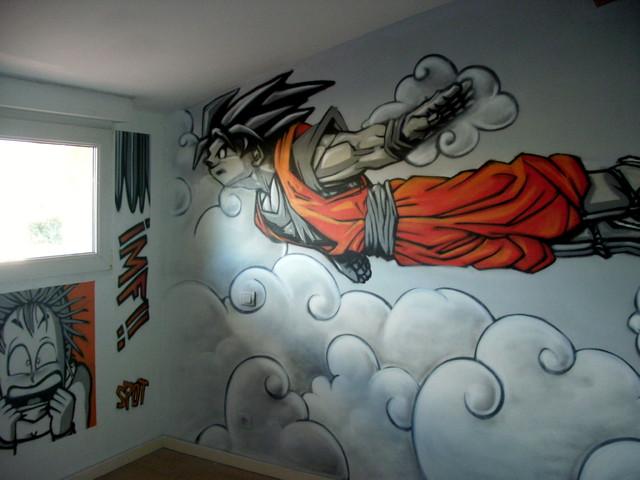 deco chambre dragon ball z