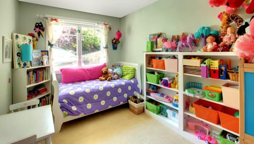 idee rangement petite chambre fille