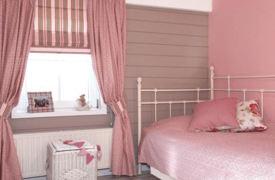 Chambre Fille Rose Gris Blanc
