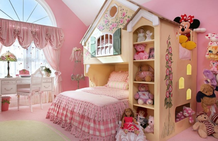 idee decoration chambre fille princesse
