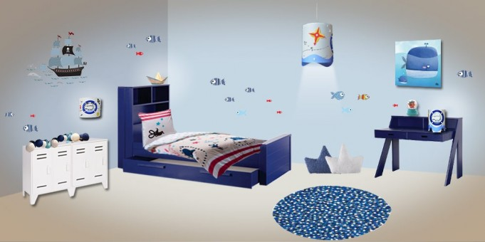 Decoration Chambre Garcon 5 Ans