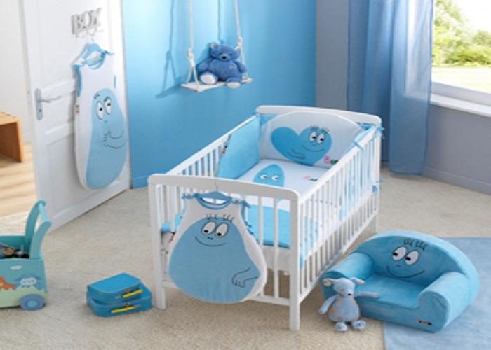deco chambre bebe bleu