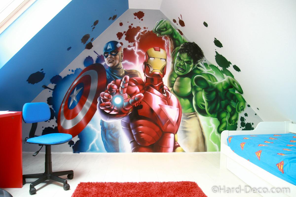 deco chambre super heros