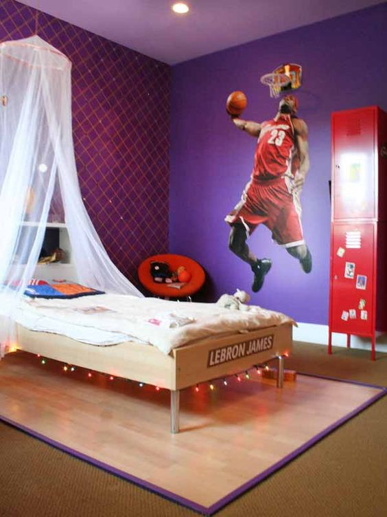 chambre deco basket