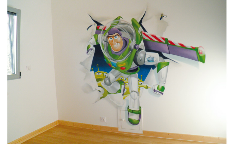 deco chambre garcon toy story