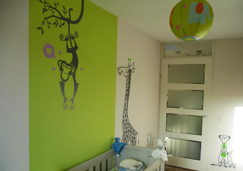 deco chambre jungle savane