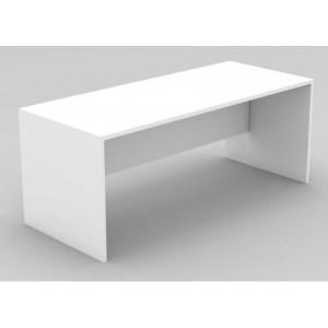 bureau pour entreprise blanc 140cm 70 cm 75 cm de hauteur