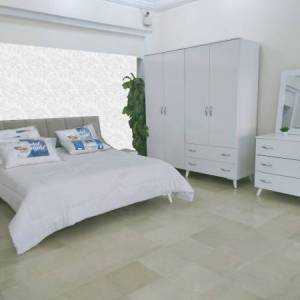 chambre à coucher blanche 4 portes tunisie