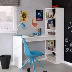 bureau reverse pour enfant et adulte en blanc