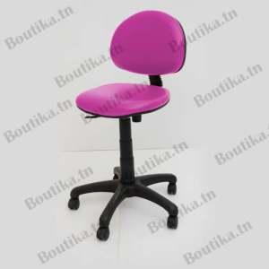 chaise de bureau enfant tunisie en rose