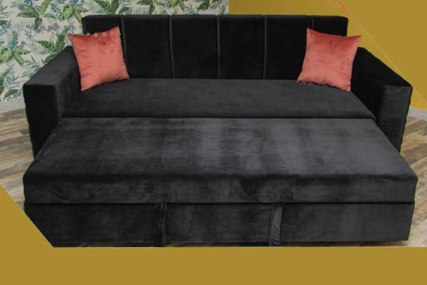Canapé-lit canapé convertible couchage 2 personnes
