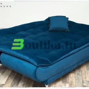 clic-clac bleu position couchage