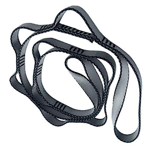 FUYUFU 2pcs Daisy Chains en Nylon pour Hamac Yoga (Gris, 110cm)