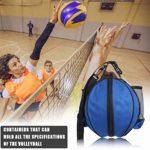 ASEOK Sac de basketball pratique et portable Grand sac de rangement pour basket-ball avec bandoulière, sports de plein air, ballon de football en PVC, accessoires de matériel de sport