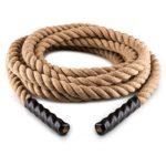 Capital Sports Power Rope Corde Cross-Training Musculation 12m Ø 3,8cm Chanvre