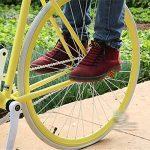 CHCUAN Lot de 2repose-pieds pour vélo BMX 10mm, red