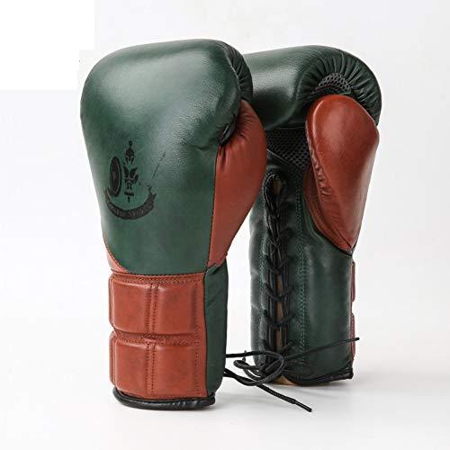 CXKWZ Gants De Boxe Gants De Boxe Gants en Cuir pour Adultes Sanda Professional Combat Libre De Formation Muay Thai
