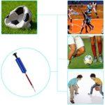 Faburo Pompe à Ballon en Set avec Aiguille et Adapteur, Ball Pump Pour Football Basketball Football Volleyball Water Polo Ball