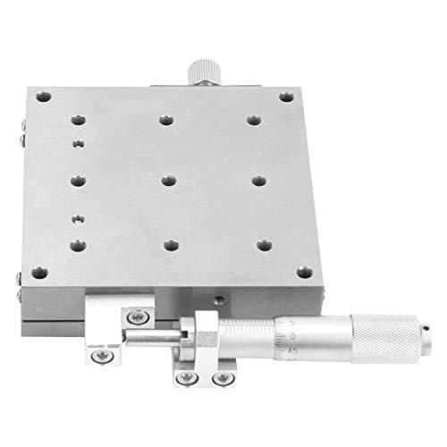 La plate-forme de déplacement de roulement d'étape de positionnement linéaire manuelle de 80x80mm X remplacent pour XSG80