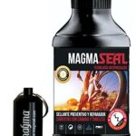 Liquide Anti-Crevaison MagmaSeal 250 ml – Produit Anti-Crevaison Préventif et Réparateur – Protection Tubeless et Chambre à Air. Inclus un étui étanche.