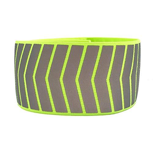 Ohhome Bracelet Bracelet de sécurité réfléchissant Sports de Nuit Courir et Faire du Jogging Sangle de Bras de vélo