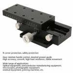 SPXDTS90 Étape de positionnement linéaire manuelle Réglage du palier Queue d'aronde Plate-forme de déplacement manuelle de la plate-forme Remplacer pour XDTS90
