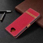 Tosim Coque Sony Xperia 8, Portefeuille Étui en Cuir Synthétique Fonction Stand Case Housse Folio à Rabat Compatible avec Sony Xperia 8 – TOBFE020415 T3