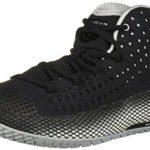 Under Armour HOVR Havoc 2 Chaussure de Basket-Ball pour Femme, Noir (Noir/Blanc), 39 EU