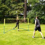 Vermont Procourt Combi Filet de Mini-Tennis et Badminton avec Sac de Transport Inclus (3m)