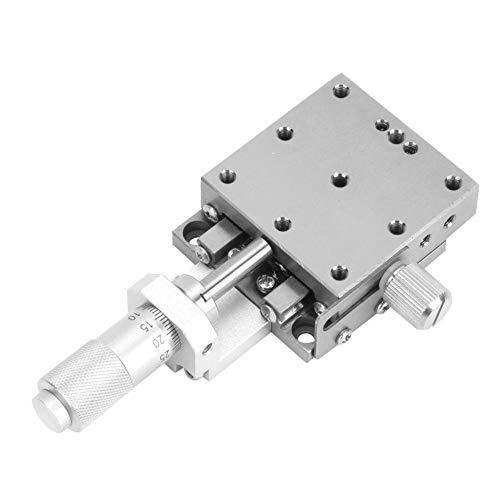 40x40mm Manuel X Positionnement linéaire Étape de type à billes Roulement en acier inoxydable Plate-forme de déplacement Remplacer pour XSG40-A