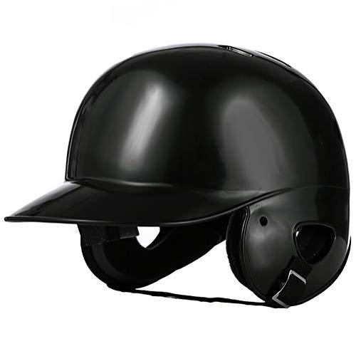 AMAIRS Casque De Baseball, Casque De Combat Casque De Baseball Binaural Protection Casquette De Baseball pour Enfants Adultes,Noir