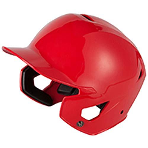Casque De Baseball, Casque De Baseball Universel Professionnel Adulte Casque De Combat Casque De Baseball,Rouge