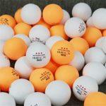 Emballage De Boîte De Couleur D'origine Trois Étoiles 2,9 G 1,57 Pouces Entraînement Professionnel Et Tennis De Table De Compétition,adapté À L'entraînement Quotidien, Compétition Formelle (6 Paquets)