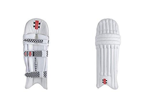 Gris Nicolls Extratec protection Prestige de cricket Coussinets (2018)–pour Homme pour droitier