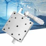 La plate-forme de déplacement de roulement en acier inoxydable de l'étape de positionnement linéaire 60x60mm manuelle X remplace pour XSG60