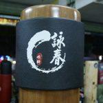 Pad de Boxe,Nouveaux équipements de Formation Wing Chun Kung Fu en Bois factices de Frappe tampons Couverture Jacket en Bois Manchons de tête factices 2pcs / Ensemble