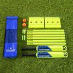 Fortress Set Cricket pour Le Jardin (Option de Taille) (Junior)