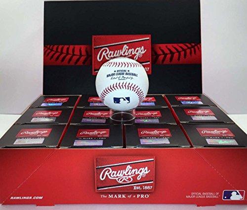 Rawlings Official Major League Game Baseball – ROMLB – 1 Dozen (12)