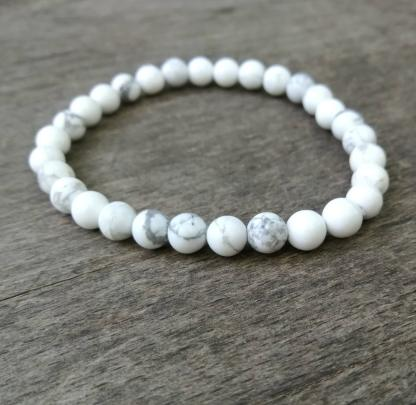 Bracelet Magnésite