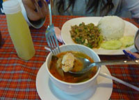 Set Meals, Bangkok to Malaysia by Train, Butterworth Station Penang